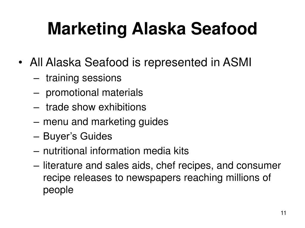 Marketing Alaska Seafood