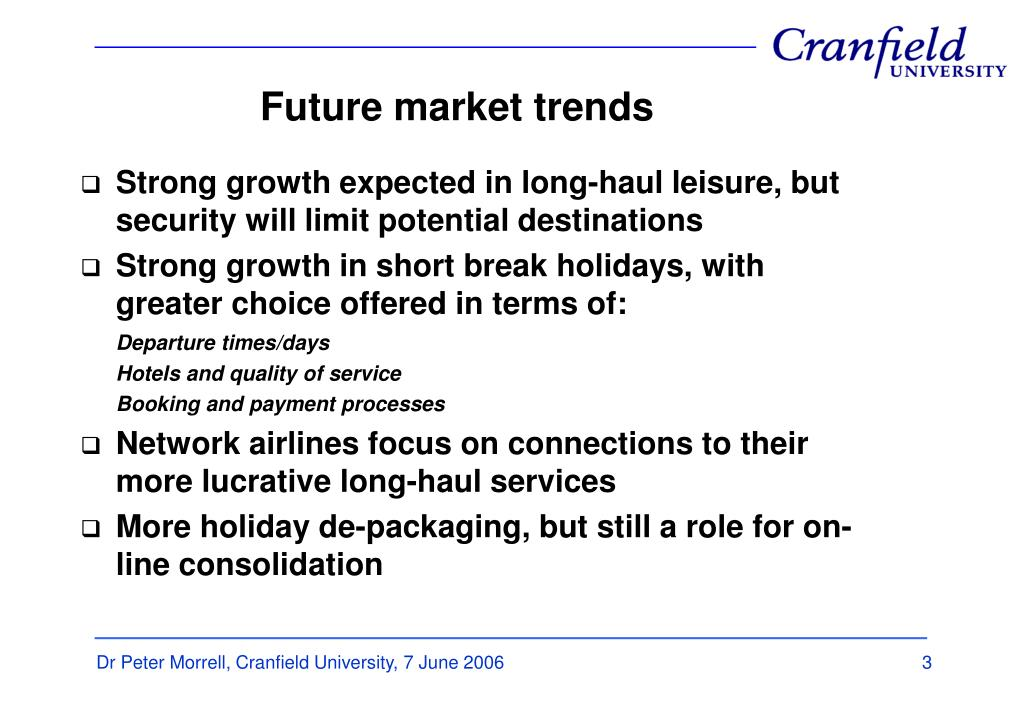 Future market trends