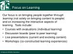 focus on learning6