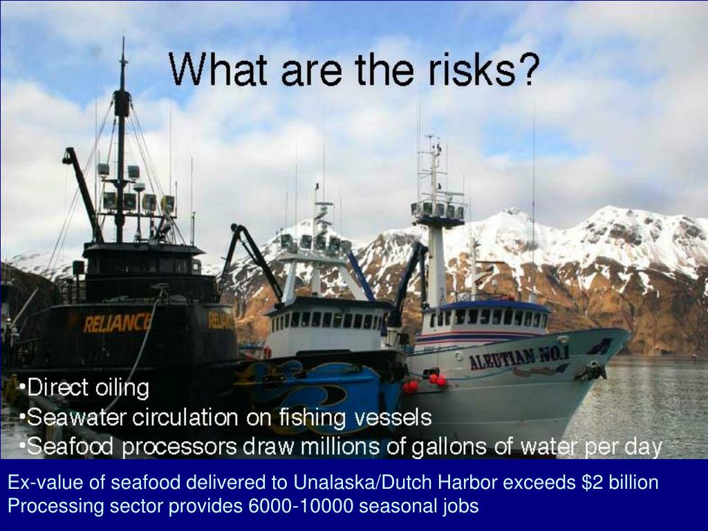 Ex-value of seafood delivered to Unalaska/Dutch Harbor exceeds $2 billion