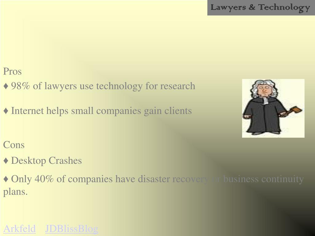 Lawyers & Technology