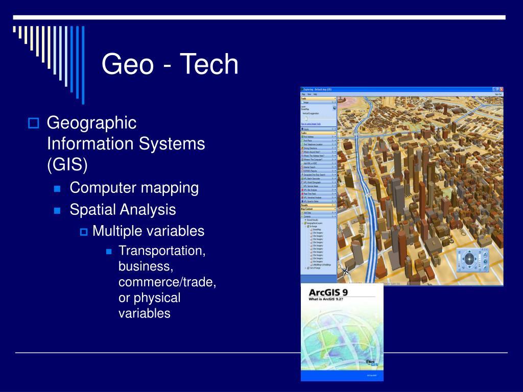 Geo - Tech