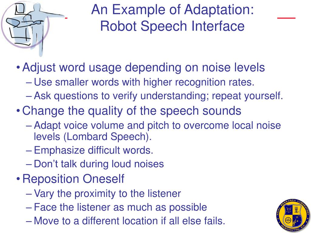 An Example of Adaptation: