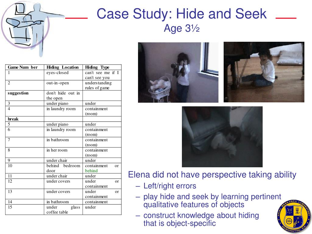 Case Study: Hide and Seek