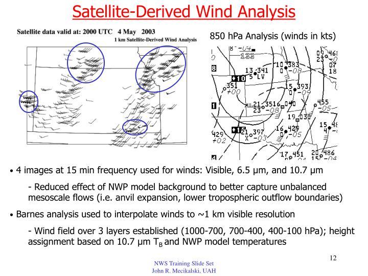 Satellite-Derived Wind Analysis