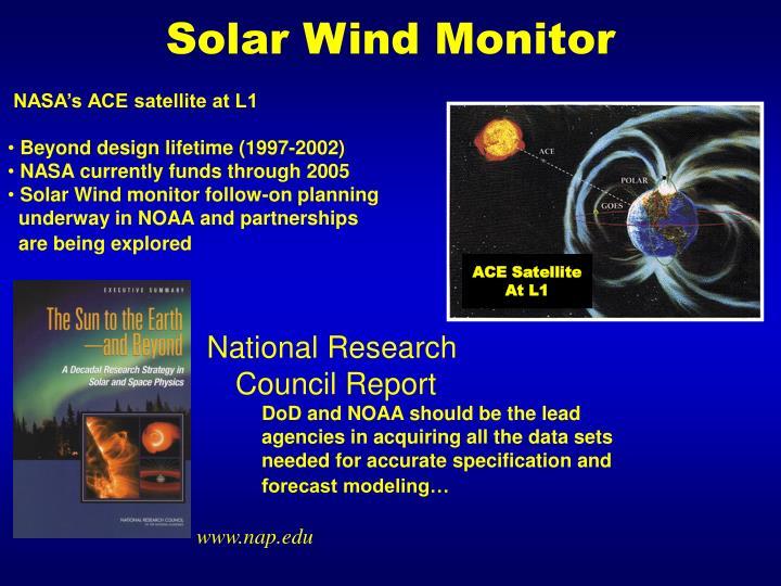 Solar Wind Monitor