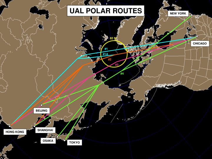 UAL POLAR ROUTES