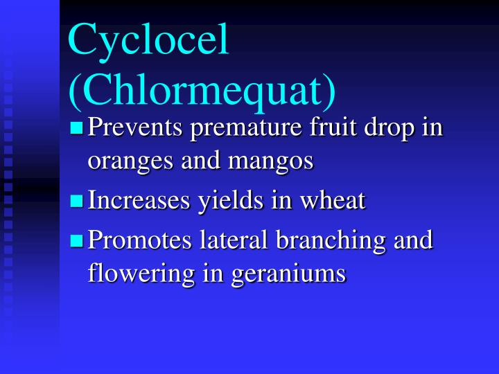 Cyclocel (Chlormequat)