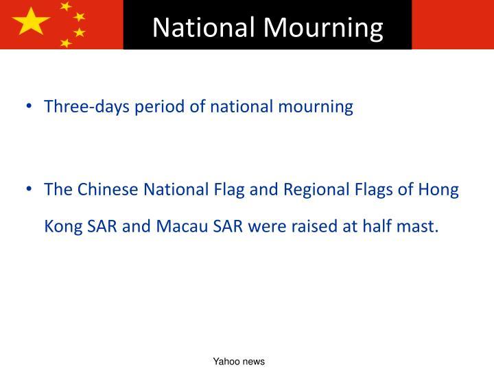 National Mourning