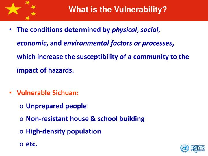 What is the Vulnerability?