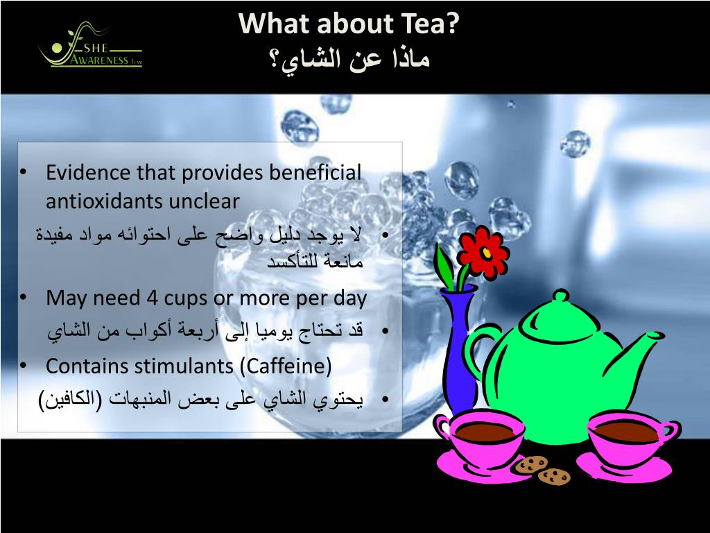 What about Tea?