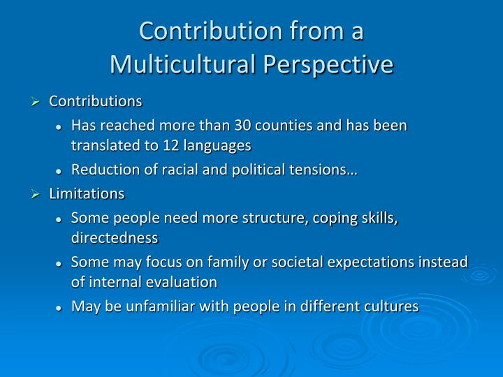 teaching with a multicultural perspective Promoting effective learning in a multicultural  promoting effective learning in a multicultural  classrooms at qut from the perspective of both teaching.