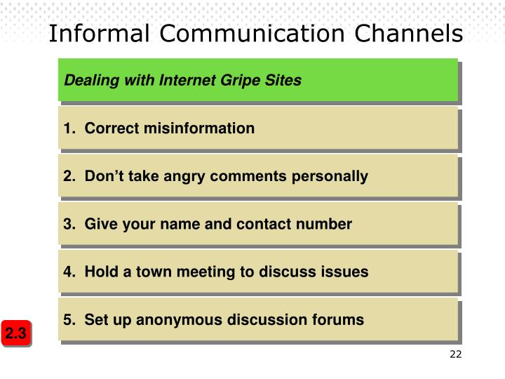 Dealing with Internet Gripe Sites