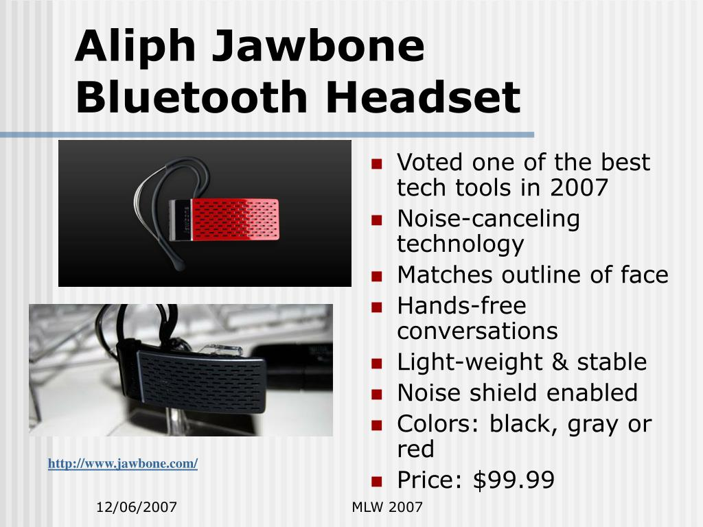 Aliph Jawbone