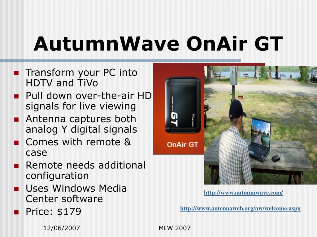 AutumnWave OnAir GT