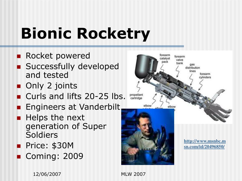Bionic Rocketry