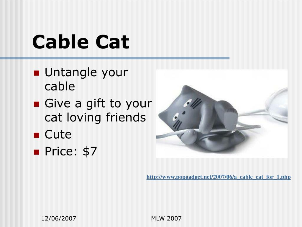 Cable Cat