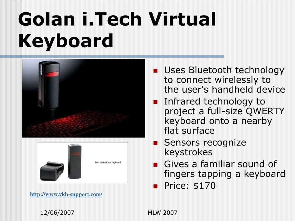 Golan i.Tech Virtual Keyboard