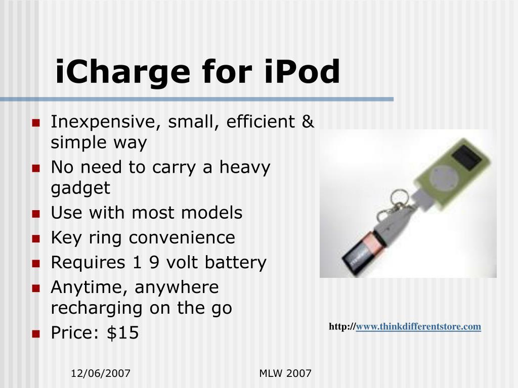 iCharge for iPod