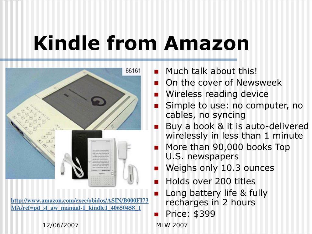 Kindle from Amazon
