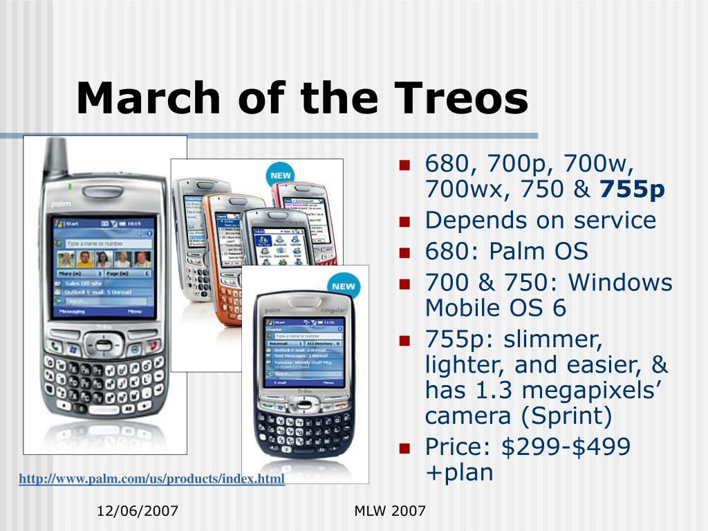 March of the Treos