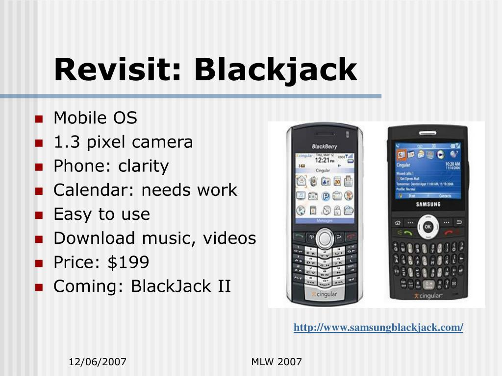 Revisit: Blackjack