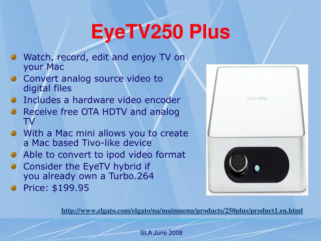 EyeTV250 Plus