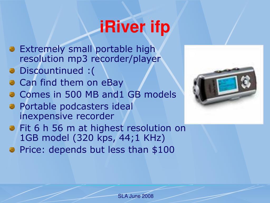 iRiver ifp