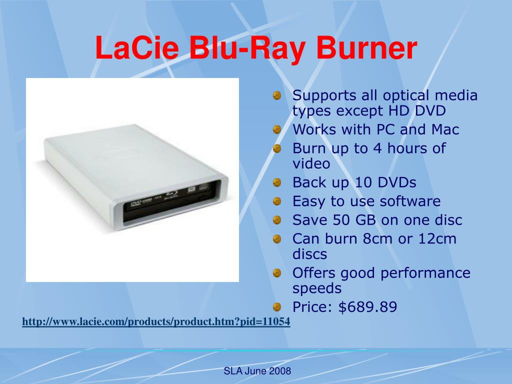 LaCie Blu-Ray Burner