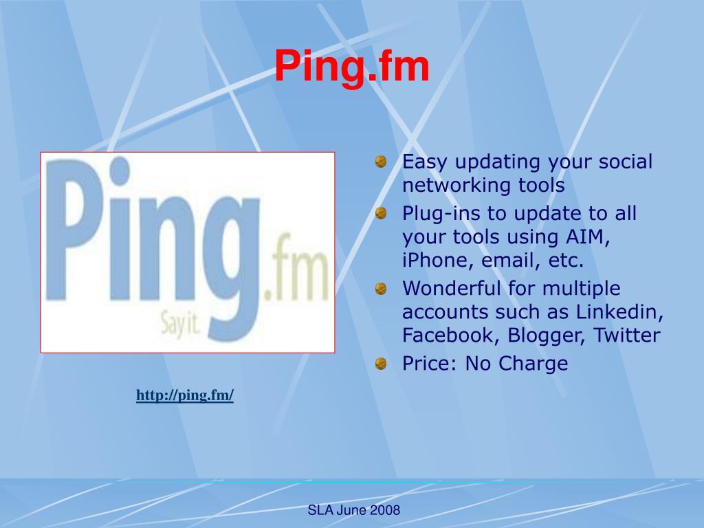 Ping.fm