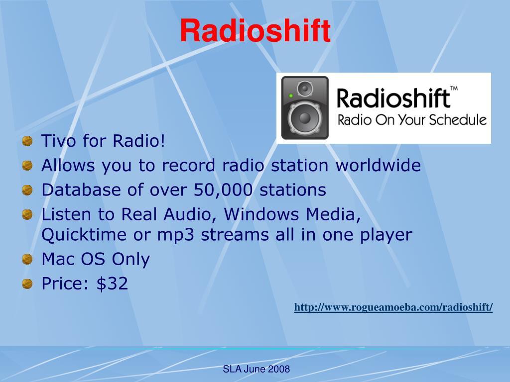 Radioshift