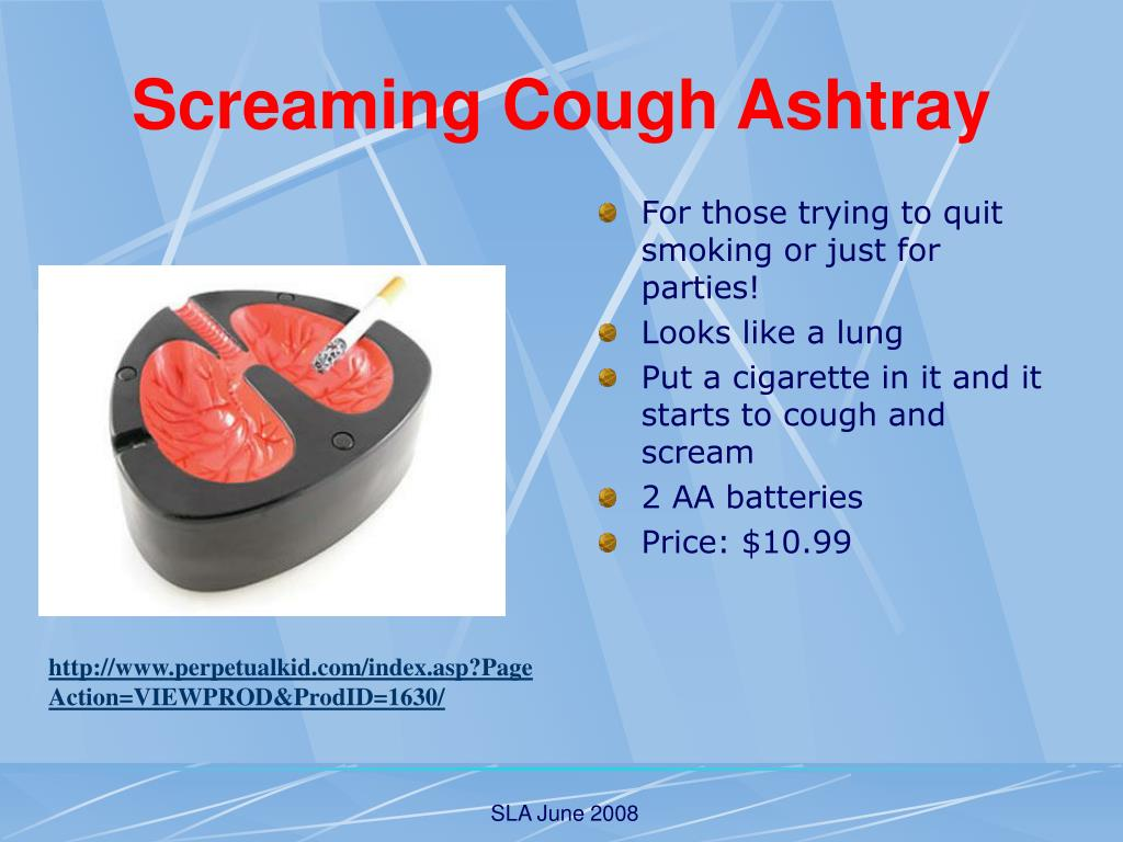 Screaming Cough Ashtray