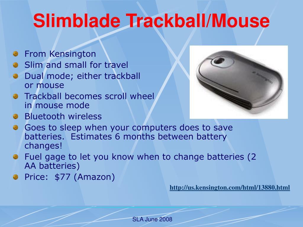 Slimblade Trackball/Mouse