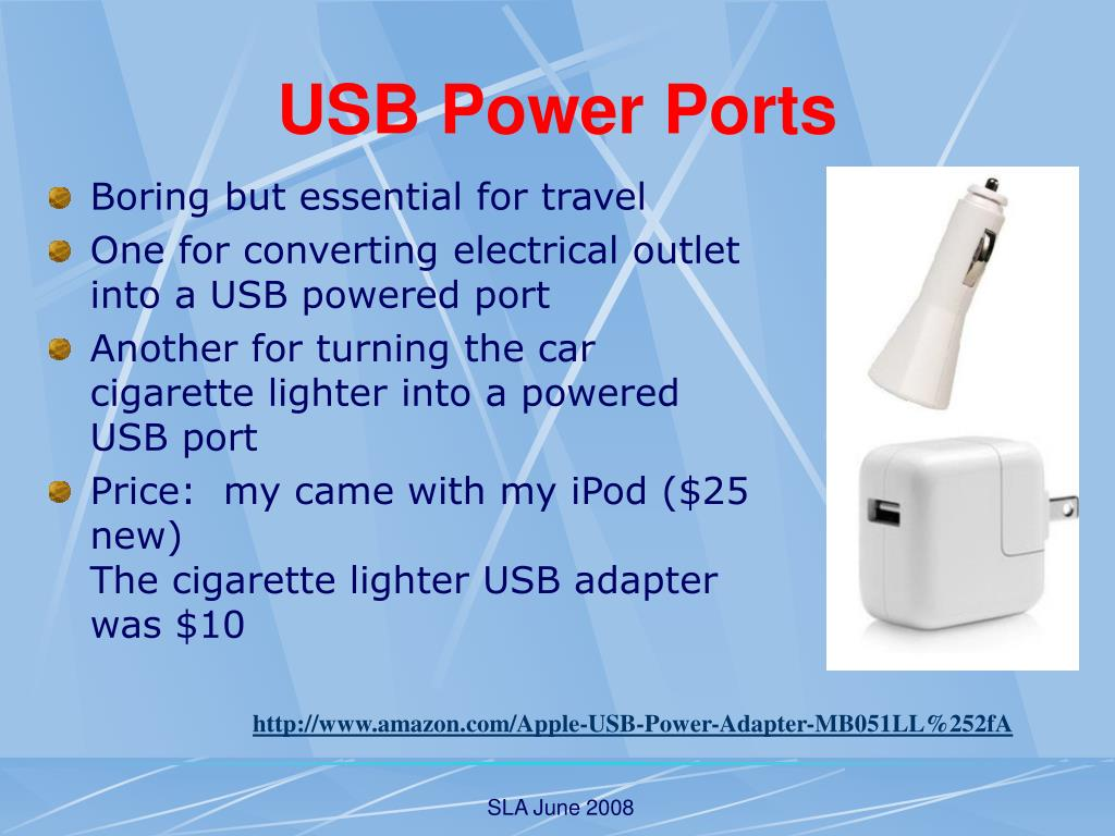 USB Power Ports