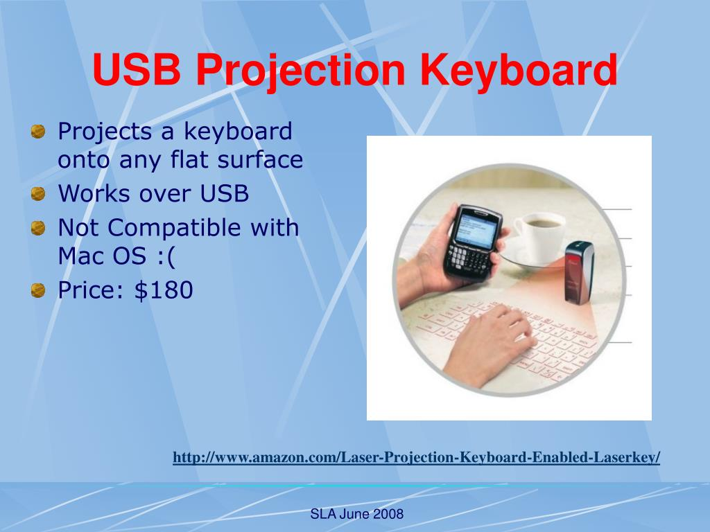 USB Projection Keyboard