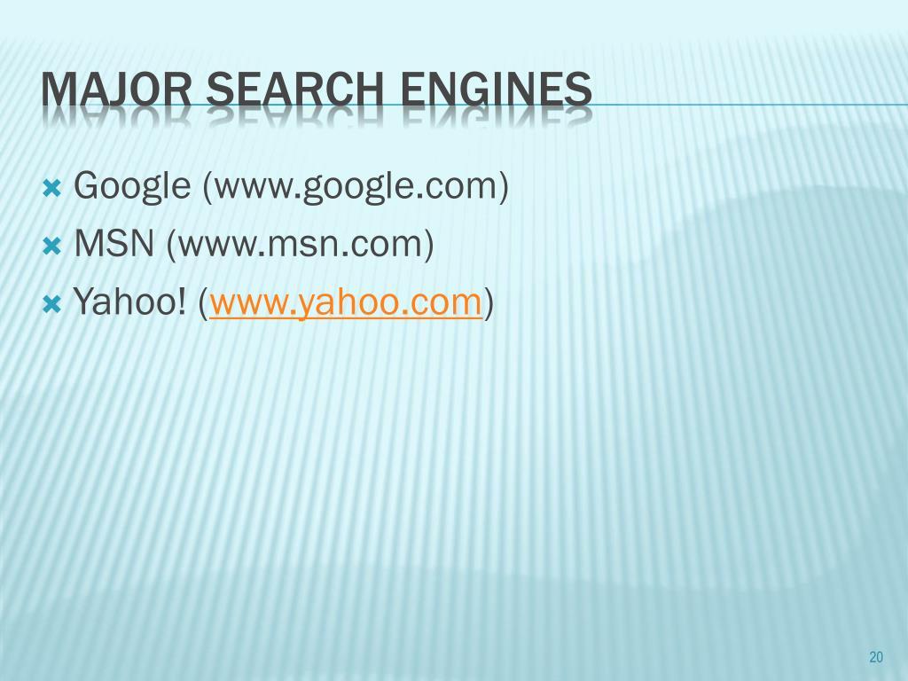 Google (www.google.com)