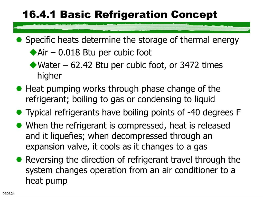 16.4.1 Basic Refrigeration Concept
