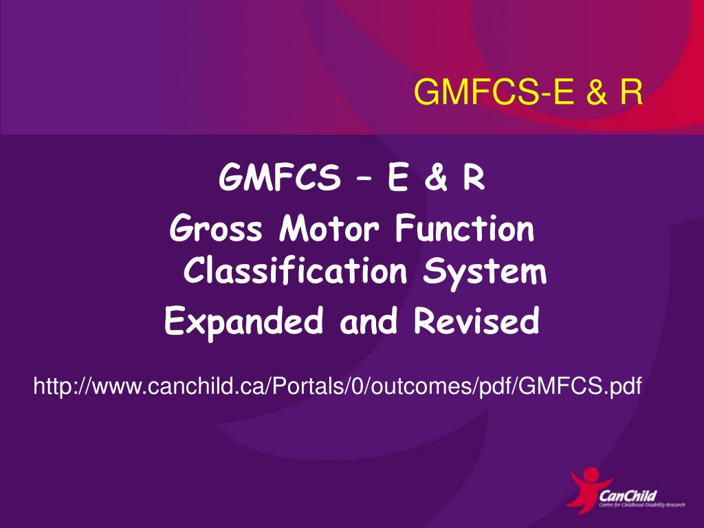 GMFCS-E & R