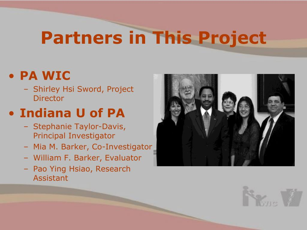 Partners in This Project