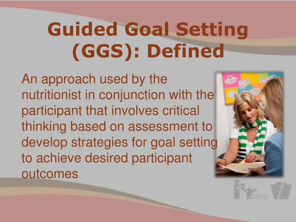 Guided Goal Setting (GGS): Defined