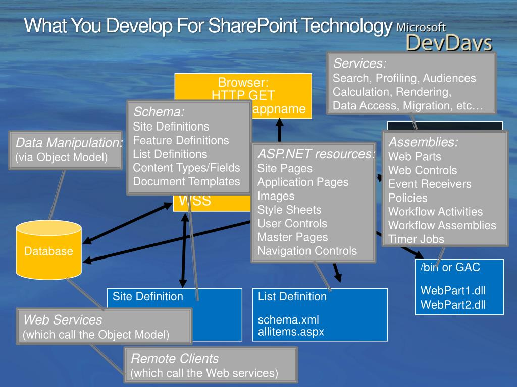 What You Develop For SharePoint Technology