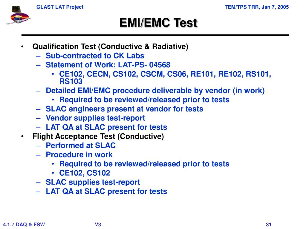 EMI/EMC Test