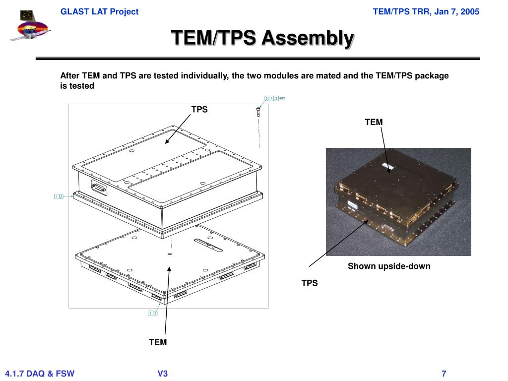 TEM/TPS Assembly