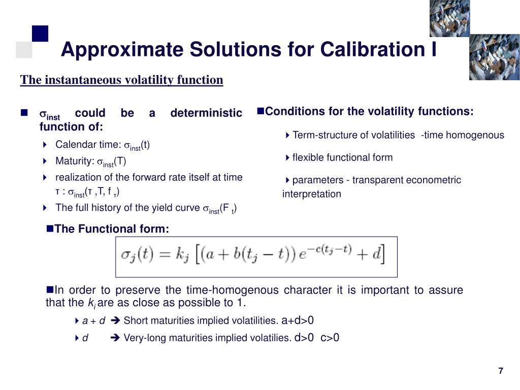 Approximate Solutions for Calibration I