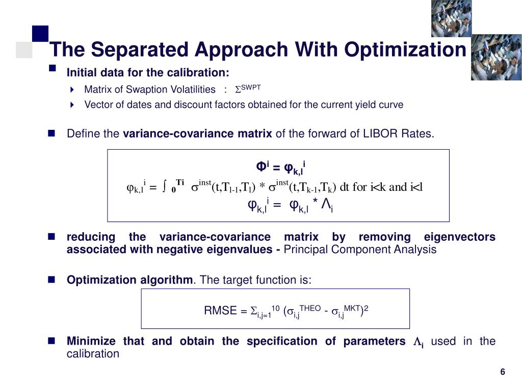 The Separated Approach With Optimization