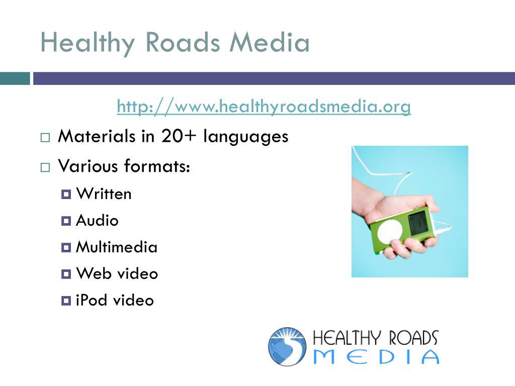 Healthy Roads Media
