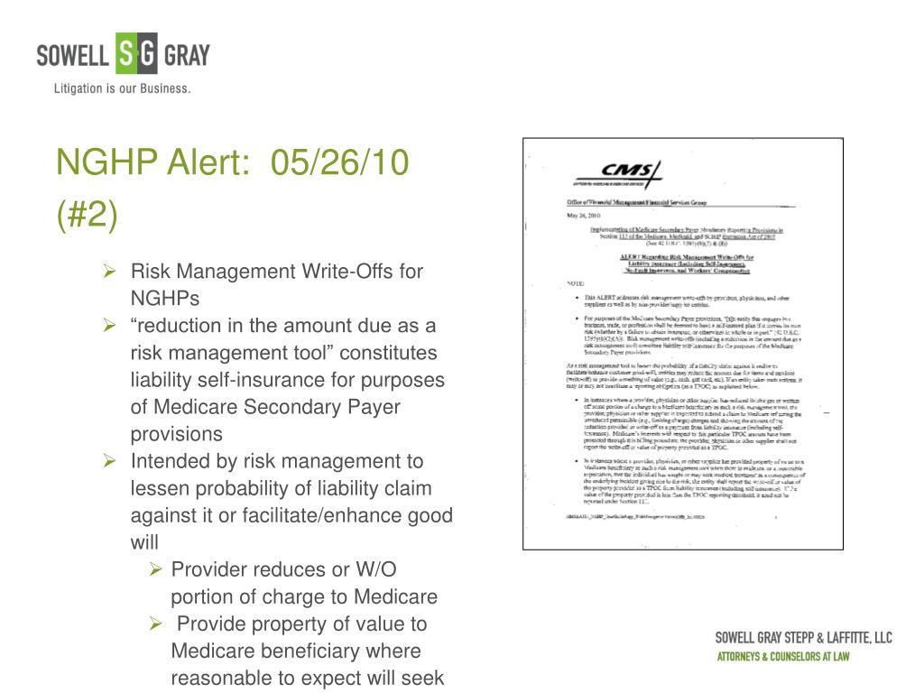 NGHP Alert:  05/26/10 (#2)