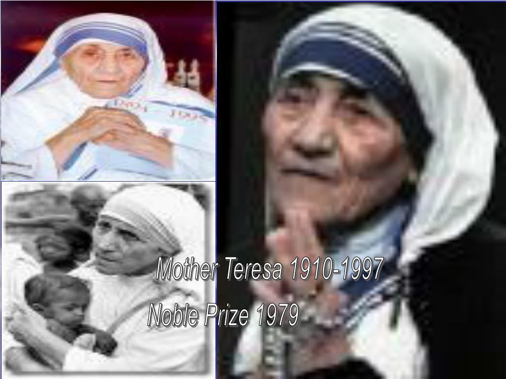 Mother Teresa 1910-1997