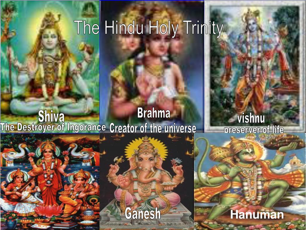 The Hindu Holy Trinity