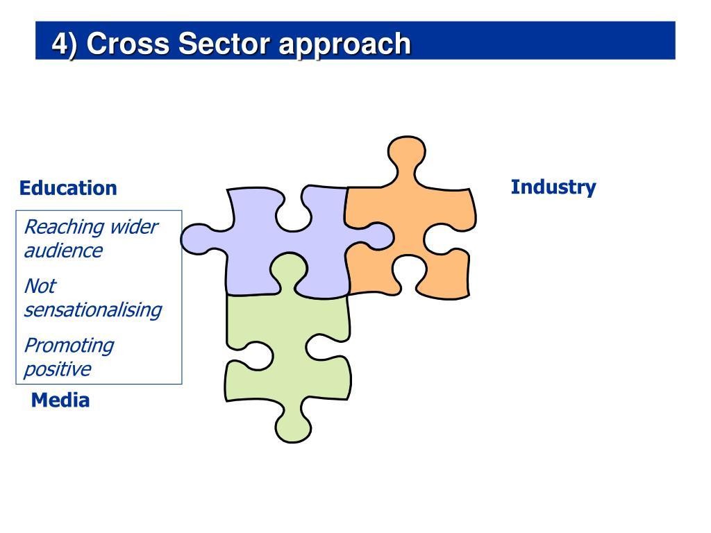 4) Cross Sector approach